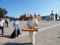 Гусли звончатые на Красногорской площади