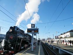 В Лавру из Москвы – на ретро-поезде