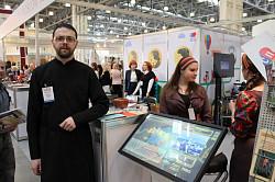 Паломнический центр Троице-Сергиевой Лавры принял участие в выставке «Интурмаркет-2015»