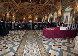 Священноначалие и братия поздравили сотрудников Лавры со светлым праздником Христова Воскресения