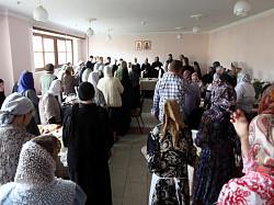 Торжество в день Ангела архимандрита Кирилла (Павлова)