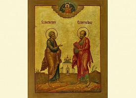 Слово на праздник в честь славных и всехвальных первоверховных апостолов Петра и Павла. Митрополит Филарет (Дроздов)