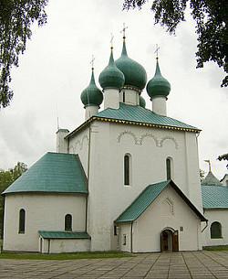 Литургия в храме преподобного Сергия Радонежского на Куликовом поле