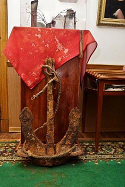 Экспедиция «Поклон кораблям Великой Победы» передала в ЦАК необычный экспонат