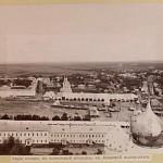 Вид с колокольни Свято-Троицкой Сергиевой Лавры. 1890-1901 гг.