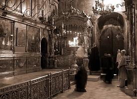 Святая ночь у преподобного Сергия