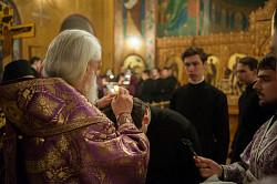 Престольный праздник в семинарском храме преподобного Иоанна Лествичника