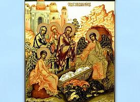 Святые жены во гробе Иисуса Христа