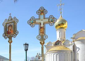 Кресты собрания Троице-Сергиевой Лавры