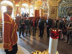 Мотопоход «Путь Александра» стартовал после молебна в Троице-Сергиевой Лавре