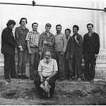 Участники раскопок после завершения работ