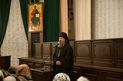 В МДА состоялась встреча с архимандритом Мелхиседеком (Артюхиным)