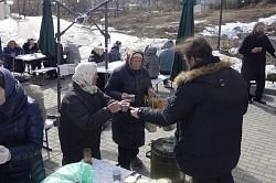 В Паломнической слободе Троице-Сергиевой Лавры состоялся благотворительный обед