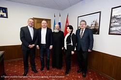 Председатель Комитета по туризму Австрийского парламента посетил Троице-Сергиеву Лавру для налаживания туристических связей