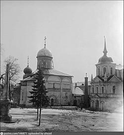 Пасхальное богослужение в Троице-Сергиевой Лавре 13 апреля 1947 г.