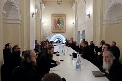 В Троице-Сергиевой Лавре завершились курсы повышения богословского образования насельников обители