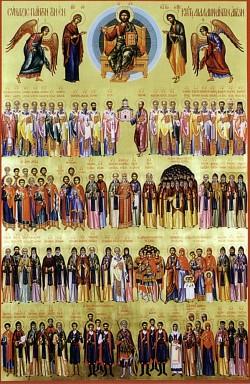 Неделя Всех святых – престольный праздник Всехсвятского подворья Троице-Сергиевой Лавры