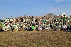 Возле Троице-Сергиевой Лавры открывается добровольческий форум «ДоброЛето»