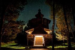 Ночная Литургия в скиту Троице-Сергиевой Лавры