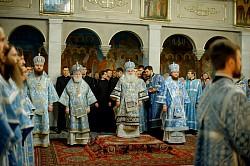 В Покровском храме Московской духовной академии встретили престольный праздник