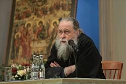 Насельник Лавры архимандрит Макарий (Веретенников) принял участие в V Петровских образовательных чтениях в Магнитогорске