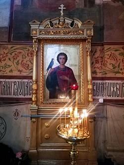 Икона мученика Трифона в Успенском соборе Лавры (из заметок лаврского экскурсовода)