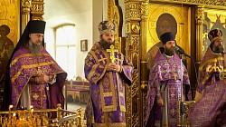 В Успенском храме г. Сергиева Посада молитвенно почтили память шести новомучеников Радонежских