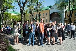 Троице-Сергиеву Лавру посетили студенты МСО «Синергия» г. Ростова-на-Дону