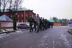 Курсанты Центра «Пересвет» начали подготовку к зимнему походу