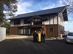 В первом в Японии православном Свято-Никольском монастыре состоялась первая Божественная литургия