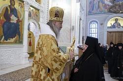 Архиепископ Феогност возглавил в Покровском Хотькове монастыре празднование 25-летия возведения настоятельницы обители в сан игумении