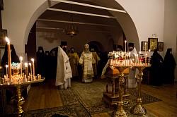 Архиепископ Феогност совершил Литургию в Свято-Троицком Стефано-Махрищском монастыре