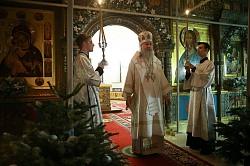 Архиепископ Феогност совершил Литургию в Зачатьевском монастыре