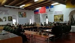 Курсанты Центра «Пересвет» отметили День защитника Отечества