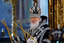 Патриарх Кирилл возглавит в Свято-Троицкой Сергиевой Лавре Литургию Преждеосвященных Даров