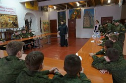 Курсанты Центра «Пересвет» встретили Прощеное воскресенье