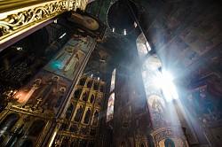 В пятницу 4-й седмицы Великого поста в Лавре преподобного Сергия совершили Литургию Преждеосвященных Даров