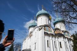 Епископ Сергиево-Посадский Парамон совершил Литургию Преждеосвященных Даров в четверток Великого канона