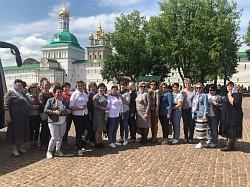 Комитет сельских женщин посетил Лавру и МДА