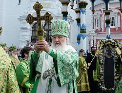 Святейший Патриарх Кирилл возглавит в Троице-Сергиевой Лавре празднование дня памяти преподобного Сергия Радонежского