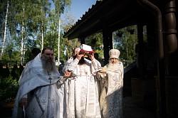 Наместник Лавры освятил храм Всемилостивого Спаса в Сергиевом Посаде