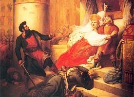 О спасении Петра I в обители Преподобного во время стрелецких мятежей