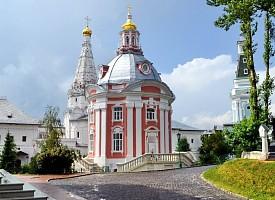 Смоленская церковь Троице-Сергиевой Лавры