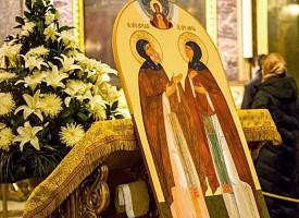 День прославления преподобных Кирилла и Марии Радонежских, родителей преподобного Сергия