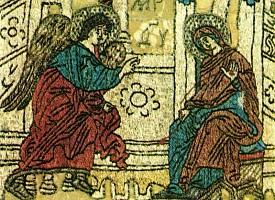 Аналойные подвесные пелены XV в. из ризницы Троице-Сергиева монастыря