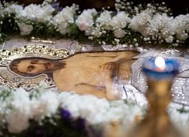 Над Святой Плащаницей. Преподобномученик Кронид (Любимов)