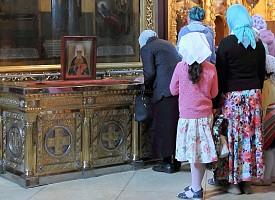 Обретение мощей святителя Макария (Невского), митрополита  Московского, Алтайского (2011)