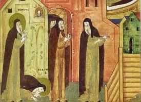 Троицкий патерик. Преподобный Исаакий Молчальник, ученик преподобного Сергия
